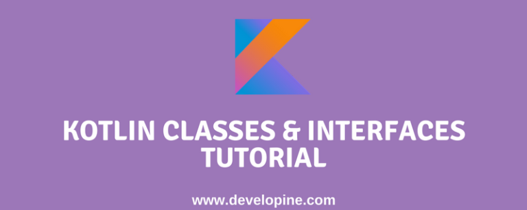 kotlin classess interfaces tutorial