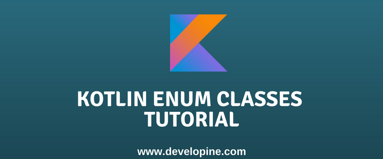 Kotlin Enum Classes tutorial