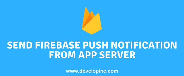 Send firebase cloud messaging push notification from java server