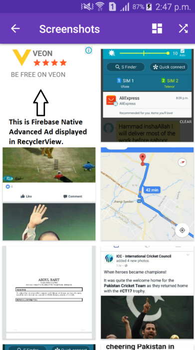 Advanced Native Ads