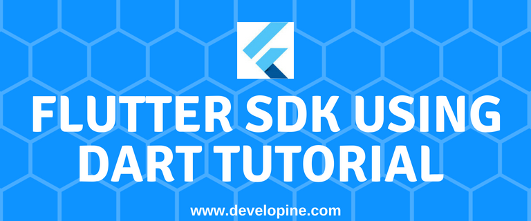 How To Develop An Android App With Flutter SDK Using Dart Tutorial
