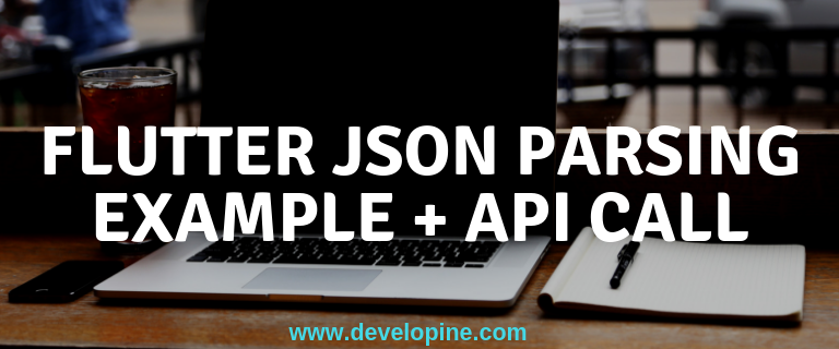 Flutter Making Network Calls and JSON Parsing Example - Developine